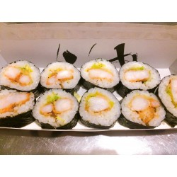 Sushis Makis 9 pièces Tenpura Ebi citron