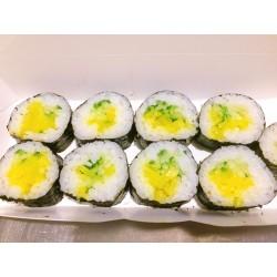 Sushis Makis 9 pièces Takuan salade sésame